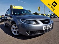 USED 2007 57 SAAB 9-5 1.9 VECTOR TID 5d 151 BHP! p/x welcome! AUTO! HALF-LEATHER! FULL SAAB SRVC HISTORY! AUX! PARKING AID! LOW MILES! CRUISE & CLIMATE CONTROL! SPORTS MODE! NEW MOT! & SRVC! AUTO+HALF-LEATHER+SPORTS MODE+FULL SAAB S-HISTORY+CRUISE&CLIMATE+LOW MILES+SENSORS+AUX+NEW MOT & SRVC!