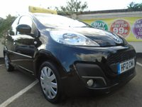 USED 2012 12 PEUGEOT 107 1.0 ACTIVE 5d 68 BHP GUARANTEED TO BEAT ANY 'WE BUY ANY CAR' VALUATION ON YOUR PART EXCHANGE