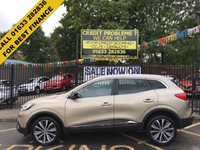 USED 2016 16 RENAULT KADJAR 1.6 SIGNATURE NAV DCI 5d 130 BHP PRIVATE PLATE K14 AEB INCLUDED, 1 OWNER, LOW MILEAGE SERVICE HISTORY ,STUNNING LIGHT GOLD PAINT WORK,  HALF BLACK LEATHER/CLOTH INTERIOR, HALF BLACK LEATHER/CLOTH INTERIOR, 19 INCH POLISHED ALLOY WHEELS, SAT NAV, REVERSE CAMERA, FRONT AND REAR PARKING  SENSORS