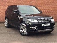 2014 LAND ROVER RANGE ROVER SPORT 3.0 SDV6 HSE 4X4 5d AUTO 288 BHP £46995.00