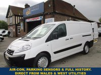 2012 PEUGEOT EXPERT 1200 L2H1 LWB WITH BT FLEET HISTORY FROM WALES & WEST UTILITIES £4745.00