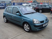 USED 2005 05 RENAULT CLIO 1.1 DYNAMIQUE 16V 5d 75 BHP