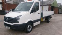 USED 2012 62 VOLKSWAGEN CRAFTER 2.0 CR35 TDI 1d 107 BHP MWB TIPPER 1 OWNER F/S/H X COUNCIL /////