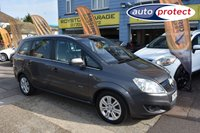 USED 2011 61 VAUXHALL ZAFIRA 1.7 ELITE CDTI ECOFLEX 5d 108 BHP CAR FINANCE SPECIALIST
