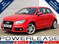 USED 2014 14 AUDI A1 1.4 TFSI S LINE STYLE EDITION 3d 138 BHP £20 ROAD TAX FULL AUDI HISTORY
