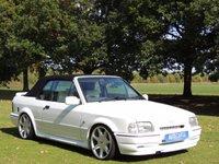 1989 FORD ESCORT RS TURBO  £11490.00