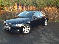 2008 AUDI A4 2.0 TDI SE 4d 141 BHP £4790.00