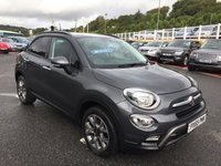 USED 2015 65 FIAT 500X 1.6 MULTIJET CROSS 5d 120 BHP Only 7,000 miles, half leather, Media & Apps