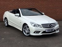 USED 2011 11 MERCEDES-BENZ E CLASS 3.0 E350 CDI BLUEEFFICIENCY SPORT Convertible 2d AUTO 231 BHP