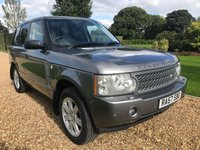 USED 2007 57 LAND ROVER RANGE ROVER 3.6 TDV8 VOGUE 5d AUTO 272 BHP TV, SATNAV, HEATED LEATHER, HEATED STEERING WHEEL,