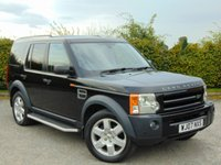 USED 2007 07 LAND ROVER DISCOVERY 2.7 3 TDV6 HSE 5d AUTOMATIC FULL SERVICE HISTORY * 7 SEATER * TWIN PANORAMIC SUNROOF *