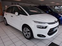 2014 CITROEN C4 PICASSO 1.6 E-HDI AIRDREAM EXCLUSIVE PLUS 5d 113 BHP £11000.00