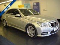 2011 MERCEDES-BENZ E CLASS 3.0 E350 CDI BLUEEFFICIENCY SPORT ED125 4d AUTO 265 BHP £13695.00