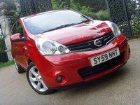 2009 NISSAN NOTE 1.6 TEKNA 5d AUTO 110 BHP £4999.00