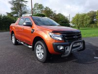 2015 FORD RANGER WILDTRAK 4X4 Double Cab Automatic 3.2 TDCI 200Ps £19995.00