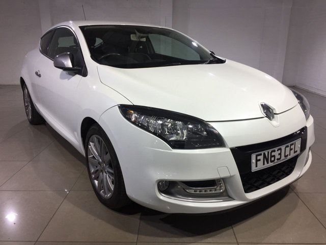 View our 2013 63 RENAULT MEGANE 1.5 dCi 110 GT Line TomTom 3dr [Start Stop]