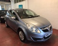 USED 2008 57 VAUXHALL CORSA 1.2 LIFE A/C 3d 80 BHP