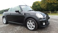 USED 2013 13 MINI CONVERTIBLE 1.6 COOPER 2d 122 BHP 3 X MINI SERVICE STAMPS,USB & AUX,2 X KEYS,HALF LEATHER TRIM,CLIMATE AND CRUISE CONTROL,BLUE TOOTH