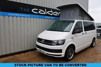 USED 2016 16 VOLKSWAGEN TRANSPORTER 2.0 T28 TDI 101 BHP - EVERY CONVERTED CAMPERVAN COMES WITH OUR 3 YEAR MECHANICAL AND INTERIOR WARRANTY