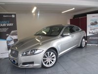 USED 2013 63 JAGUAR XF 3.0 D V6 LUXURY 4d AUTO 240 BHP