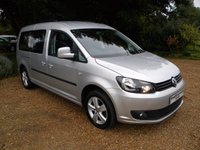USED 2015 15 VOLKSWAGEN CADDY MAXI 1.6 C20 LIFE TDI 5d 101 BHP Ready to Drive Away!