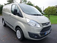 USED 2014 64 FORD TRANSIT CUSTOM 270 L1 Swb TREND 2.2 Tdci 125Ps High Specification, Low Miles & Tailgate
