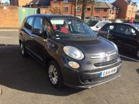 USED 2014 14 FIAT 500L MPW 1.2 MULTIJET POP STAR DUALOGIC 5d AUTO 85 BHP 7 SEATER WITH PARKING SENSORS,ALLOY WHEELS, AUXILLIARY INPUT,MEDIA CONNECTIVITY AND USB!!... EXCELLENT FUEL ECONOMY!!..LOW CO2 EMISSIONS(105G/KM)..£20 ROAD TAX...FULL FIAT SERVICE HISTORY...ONLY 10404 MILES FROM NEW!!