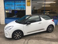 2012 CITROEN DS3 1.6 DSTYLE PLUS 3d 120 BHP £5690.00