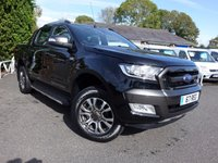 2017 FORD RANGER WILDTRAK 4X4 Double Cab Automatic 3.2 TDCI 200Ps £26995.00
