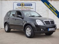 USED 2009 59 SSANGYONG REXTON 2.7 270 S 5d 162 BHP Digital Air Con Cruise Control 0% Deposit Finance Available