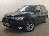 USED 2015 15 MITSUBISHI OUTLANDER 2.0 PHEV GX 4H 5d AUTO 162 BHP 4WD SAT NAV SUNROOF LEATHER FSH NO FINANCE REPAYMENTS FOR 2 MONTHS STC. 4WD. SATELLITE NAVIGATION. SUNROOF. STUNNING BLACK MET WITH FULL BLACK LEATHER TRIM. ELECTRIC HEATED SEATS. CRUISE CONTROL. 18 INCH ALLOYS. COLOUR CODED TRIMS. PRIVACY GLASS. REVERSING CAMERA. ELECTRIC TAILGATE. BLUETOOTH PREP. AIR CON. R/CD PLAYER. PADDLESHIFT AUTO. MFSW. MOT 08/18. ONE PREV OWNER. SERVICE HISTORY. FCA FINANCE APPROVED DEALER. TEL 01937 849492