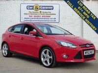 USED 2012 62 FORD FOCUS 1.6 TITANIUM TDCI 115 5d 114 BHP Full History £20 Tax DAB Radio 0% Deposit Finance Available