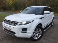 USED 2012 62 LAND ROVER RANGE ROVER EVOQUE 2.2 ED4 PURE 5d 150 BHP SAT NAV LEATHER SIDE STEPS  NO FINANCE REPAYMENTS FOR 2 MONTHS STC. SATELLITE NAVIGATION. STUNNING WHITE WITH FULL BLACK LEATHER TRIM. HEATED SEATS. CRUISE CONTROL. SIDE STEPS. 18 INCH ALLOYS. COLOUR CODED TRIMS. PRIVACY GLASS. PARKING SENSORS. BLUETOOTH PREP. AIR CON. MULTIMEDIA SYSTEM. R/CD/DAB RADIO. 6 SPEED MANUAL. MFSW. MOT 10/18. SERVICE HISTORY. FCA FINANCE APPROVED DEALER. TEL 01937 849492