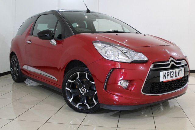 View our 2013 13 CITROEN DS3 1.6 DSTYLE PLUS 3DR 120 BHP