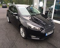USED 2017 17 FORD FOCUS 1.5 TDCI ZETEC EDITION 120 BHP THIS VEHICLE IS AT SITE 1 - TO VIEW CALL US ON 01903 892224