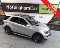 USED 2008 58 MERCEDES M-CLASS ML 320 CDI EDITION 10