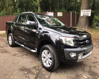 USED 2014 64 FORD RANGER 3.2 WILDTRAK 4X4 DCB TDCI AUTO 197 BHP Reverse Camera, Satellite Navigation, Air Con