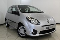 USED 2011 61 RENAULT TWINGO 1.1 EXPRESSION 3DR 75 BHP SERVICE HISTORY + AIR CONDITIONING + RADIO/CD + ELECTRIC WINDOWS + AUXILIARY PORT
