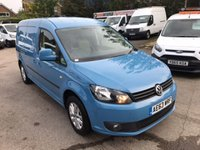 USED 2013 63 VOLKSWAGEN CADDY MAXI 1.6 C20 TDI HIGHLINE 1d 101 BHP ALLOYS
