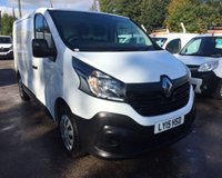 USED 2015 15 RENAULT TRAFIC 1.6 SL27 BUSINESS DCI S/R P/V 1d 115 BHP LOW MILES