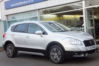 "USED 2014 64 SUZUKI S-CROSS 1.6 SZ4 5dr (118 BHP) ......ONE OWNER. FULL SUZUKI SERVICE HISTORY. CLIMATE CONTROL, 17"" ALLOY WHEELS. CRUISE CONTROL. KEYLESS OPERATION."
