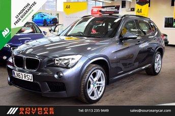 2013 BMW X1 2.0 XDRIVE20D M SPORT 5d AUTO 181 BHP £14750.00