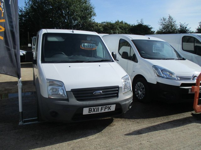 2011 11 FORD TRANSIT CONNECT 1.8 T 220 LR 1d 75 BHP