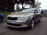 USED 2009 09 SKODA SUPERB 2.0 ELEGANCE TDI CR DSG 5d AUTO 170BHP 18ALLOYS+SATNAV+MEDIA+SUNROOF+