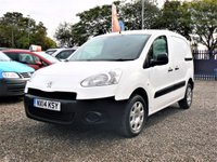 USED 2014 14 PEUGEOT PARTNER 1.6 HDI S L1 850 5d 1 OWNER / FULL SERVICE HISTORY