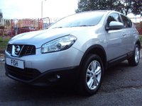 USED 2013 13 NISSAN QASHQAI 1.5 ACENTA DCI 5d 110BHP 2KEYS+1OWNER FROM NEW+FACELIFT