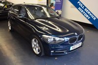 USED 2013 13 BMW 1 SERIES 1.6 118I SPORT 5d AUTO 168 BHP 1 LADY OWNER, HUGER SPEC WITH OVER £6,500 WORTH OF FACTORY EXTRAS