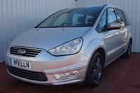 USED 2011 11 FORD GALAXY 2.0 ZETEC TDCI 5d 138 BHP Full Service History