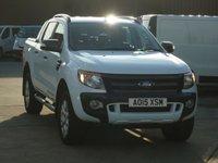 2015 FORD RANGER 3.2TDCi WILDTRAK 4X4 DCB 200BHP £17495.00