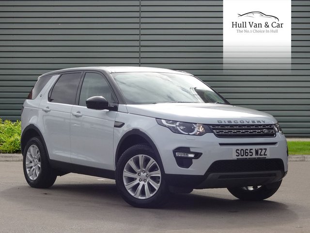 2016 65 LAND ROVER DISCOVERY SPORT 2.0 TD4 SE TECH 5d 180 BHP